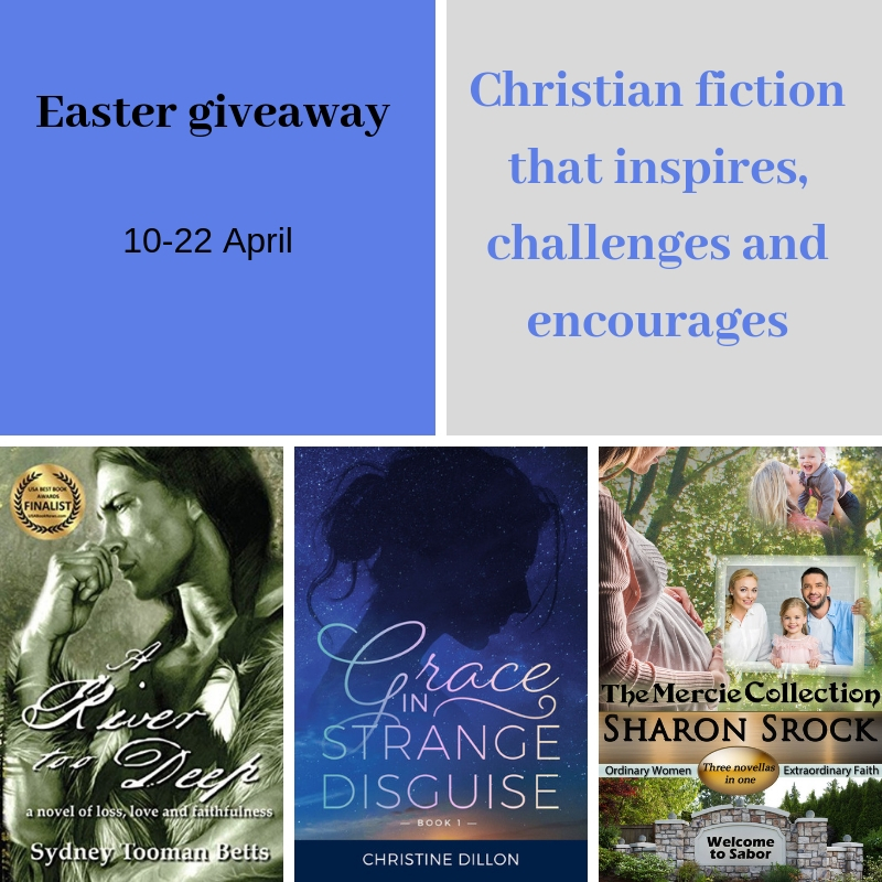 Jesus is risen! 3 author Easter giveaway ~ Christine Dillon